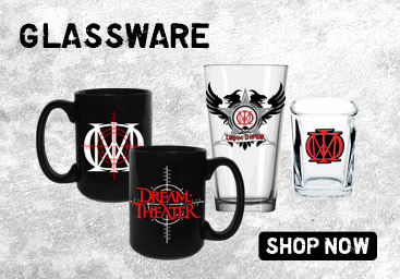 Dream Theater Official Merchandise -Glassware