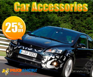 25% OFF Well-selected Car Accessories
