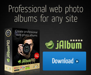 jAlbum Award winning photo album software