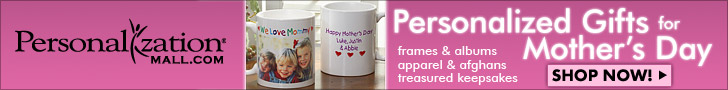 Personalized Mother's Day Gifts from PersonalizationMall.com
