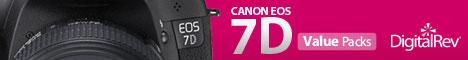 Canon EOS 7D Value Packs