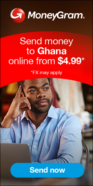 300x600 Send Money To Ghana Online From $4.99* *FX May Apply