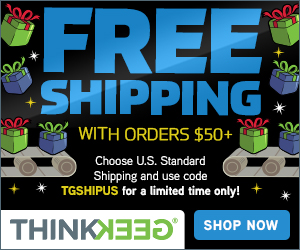 thinkgeek freeshipping