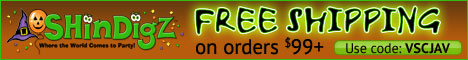 FREE Shipping on Halloween supply orders $85+