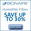 Humidifier Filters from BIONAIRE. Save up to 30%
