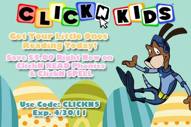 Save $5 Off ClickN READ Phonics and ClickN SPELL