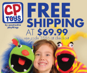 CP Toys Free Shipping Coupon
