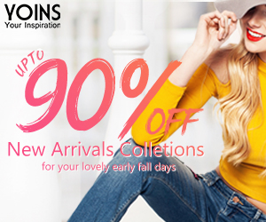 20% off oders of $139 for New Arrivals collections