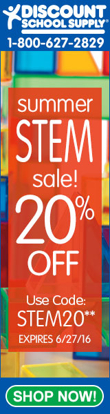 Save 20% Off All STEM Products At Discount School Supply!