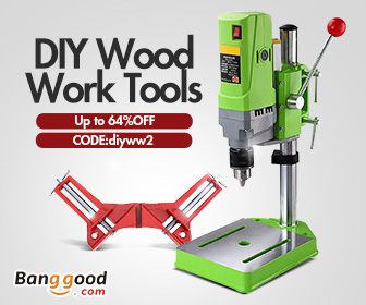 12% OFF Coupon for DIY Wood Work Tools