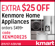 kenmore at kmart,Department Stores