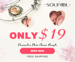 SOUFEEL New Design Photo Charm Bangle from $15