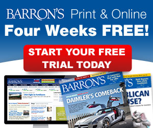 Subscribe To Barron's Print and online