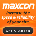 MaxCDN Speed Up Your Site