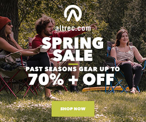 Save Up To 40% on Past Season Equipment at Altrec.com!