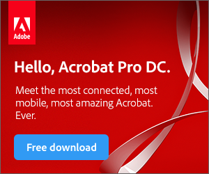 300x250 Adobe Acrobat Pro DC: For Individuals and Businesses
