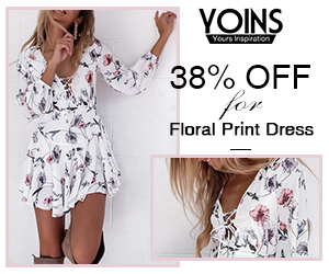 38% off for Floral Print Dress