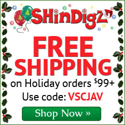 FREE Shipping on Holiday Party Supply Orders $85+