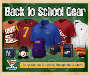 Shop for school supplies, backpacks & more for your favorite teams at Fanatics!