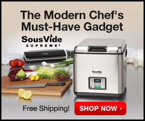 FREE SHIPPING Modern Chef's Must-Have Gadget: The Sous Vide Supreme