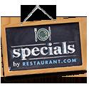 Specials!! Hurry!!