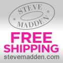 Free Shipping no minimum at Steve Madden thru 3/11