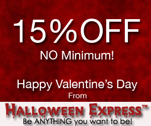Save 15% in August at Halloween Express