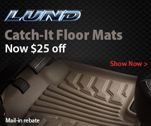 Lund Catch-It Floor Mats are now $25 OFF!
