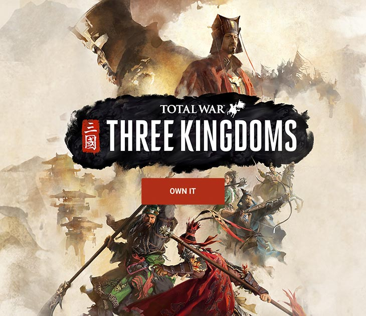 Check out all of Total War: Three Kingdoms deals