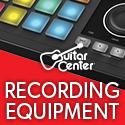 Recording equipment category at GuitarCenter.com