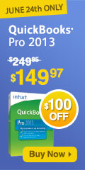 Quickbooks pro 40% off - 1 Day only!