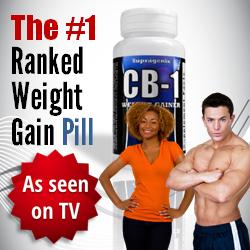 weight gain powder pills
