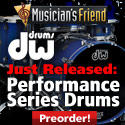 Just Released: DW Performance Series Drums