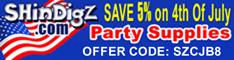 Save 5% - ShindigZ Valentine's Decorations