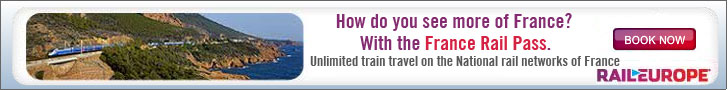 France Rail pass from Rail Europe