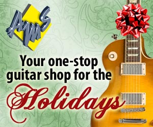 American Musical Supply - Guitars for the Holidays