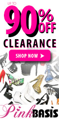 Save up to 90% off clearance items at PinkBasis.com!