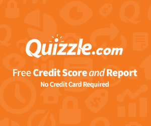 Quizzle Free Credit Report and Score