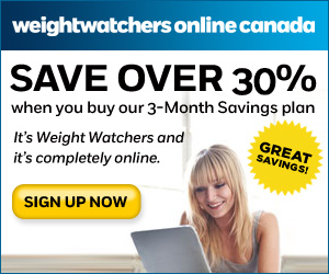 Weight Watchers Canada online 25% off coupon