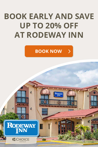 Rodeway Inn - 20% Off Advanced Purchase Rate - 400x600