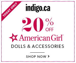 Today Only: 20% off American Girl