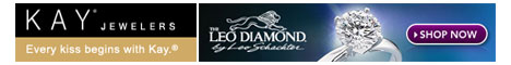 The Leo Diamond from Kay Jewelers - Every kiss begins with Kay.