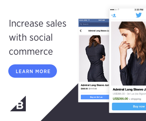 Increase sales with social commerce. Learn More!