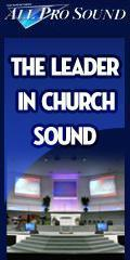 Church Sound - All Pro Sound