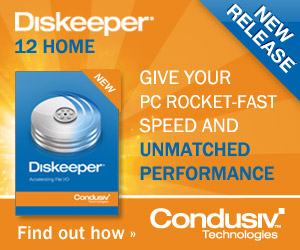 NEW Diskeeper 12: Faster PC Speed  - Just $29.95