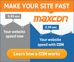MaxCDN - Make Your Site Fast