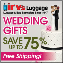 Shop Our Gift Center for WEDDING GIFTS- On-going Offer-Save up to 75%!