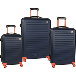 Nautica Tide Beach -3 Piece Hardside Luggage Set Now Only $214.47 Plus Free Shipping Org. $1,020.00 Use Promo Code TBNT at checkout.