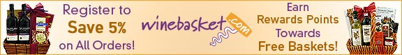 Wine, Cheese, Champagne & More at Winebasket.com