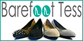 Spend $100, get 15% off at Barefoot Tess!